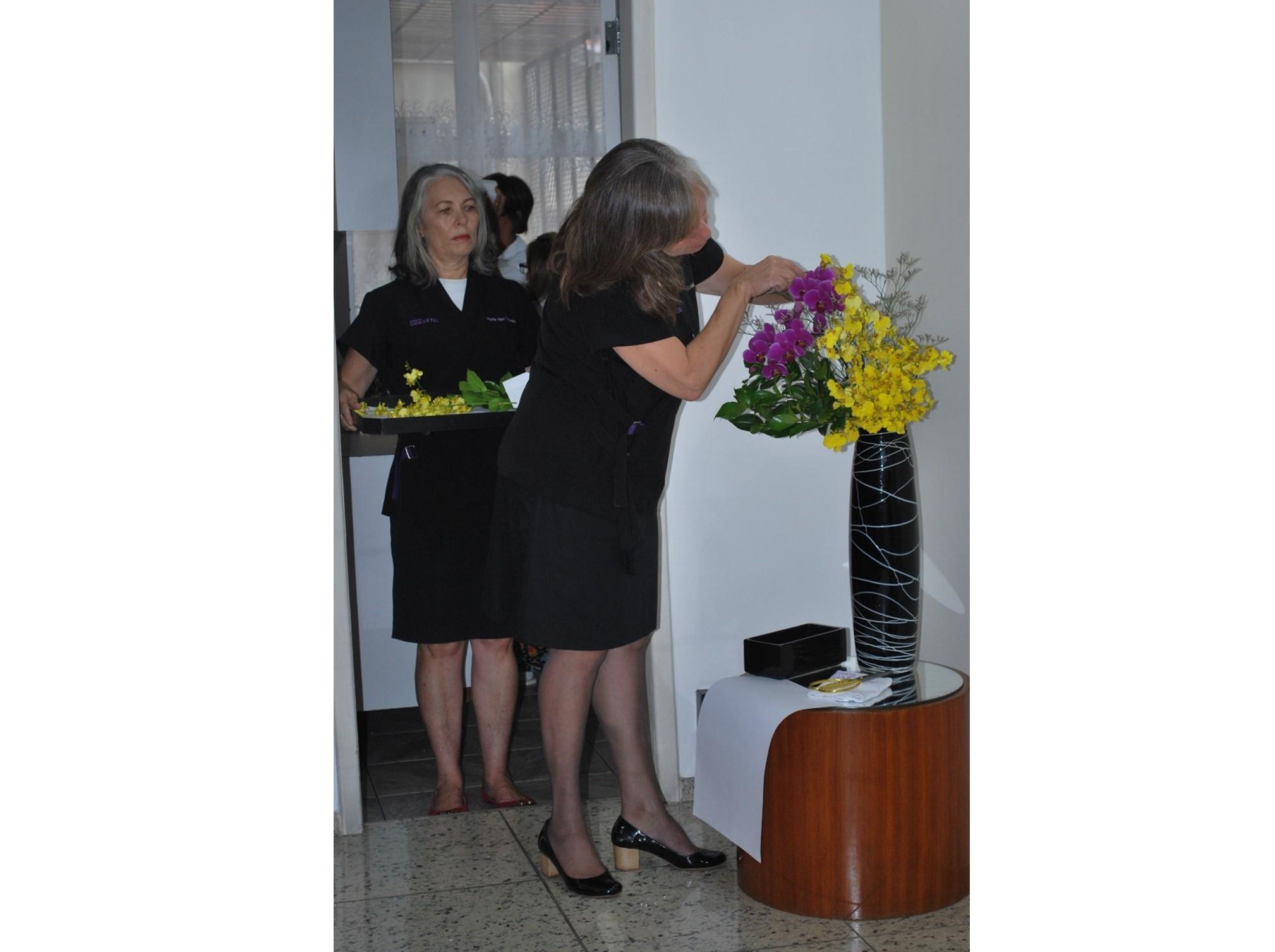 Johrei Center Niterói (RJ) celebra a Cerimônia da Primeira Flor do Ano