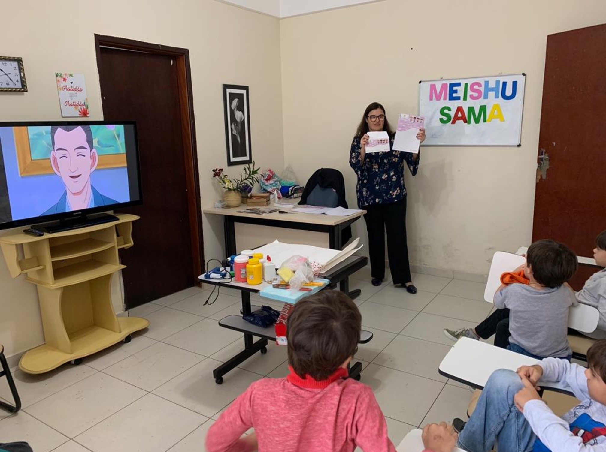 Movimento Kids do Johrei Center Guaianases (SP) se prepara para o Culto do Paraíso Terrestre
