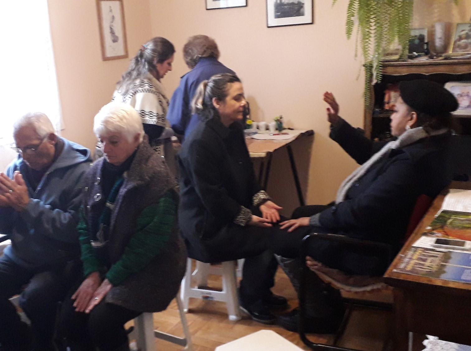 Missionário do RS realiza vivência das três Colunas da Salvação em lar de membro