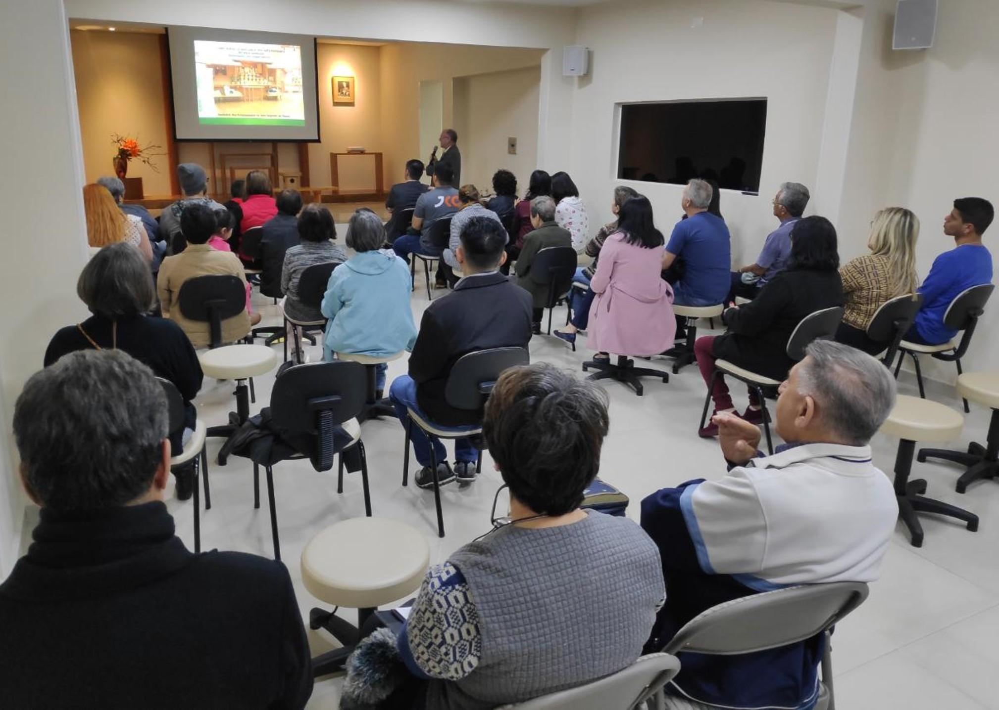 Setor de Sorei Saishi do Johrei Center Maringá (PR) promove atividade