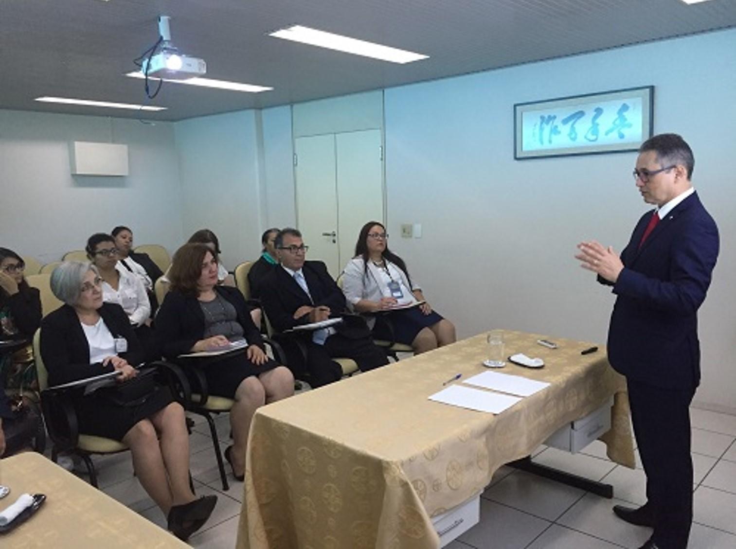 Secretaria de Experiência de Fé da IMMB visita Igreja Araçatuba (SP)